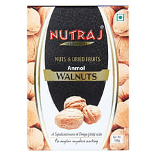 Nutraj - Anmol Walnuts Inshell - 1000G (Pack Of 2)