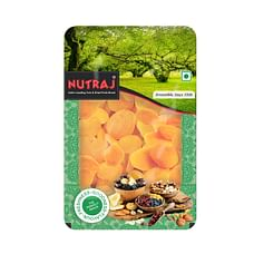 Nutraj Premium Dried Pitted Turkish Apricots 600g Tray