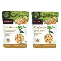 Nutraj Healthy Bites Cashew Nuts 500g (Pack of 2)