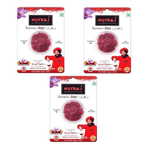 Nutraj Saffron ISO 3632 - 3 gm