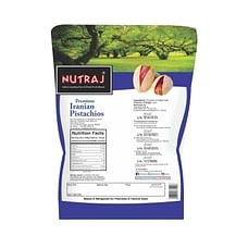 Nutraj Iranian Roasted & Salted Pistachios 250g - Buy 2 Get 1 Free