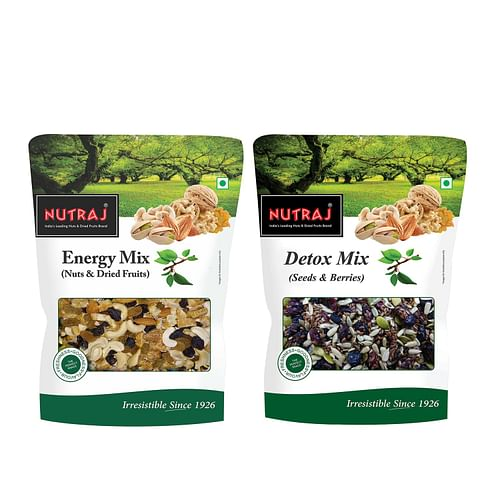 Nutraj Detox Mix & Energy Mix 450gm Each