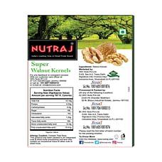 Nutraj Super Extra Light Halve Walnut Kernels 250 g (Pack of 3)