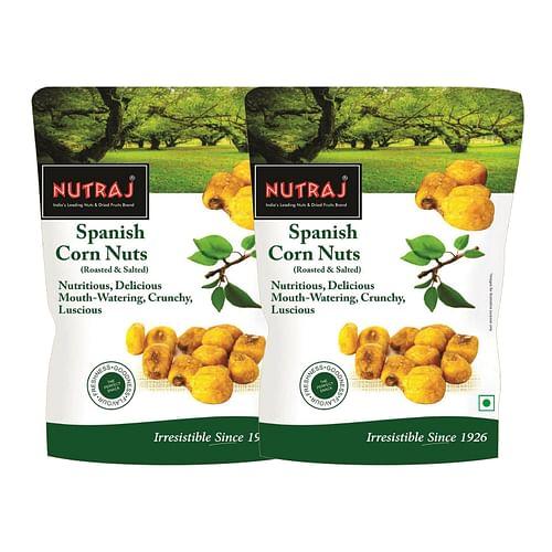 Nutraj Spanish Corn Roasted & Salted 150g - Pack of 2