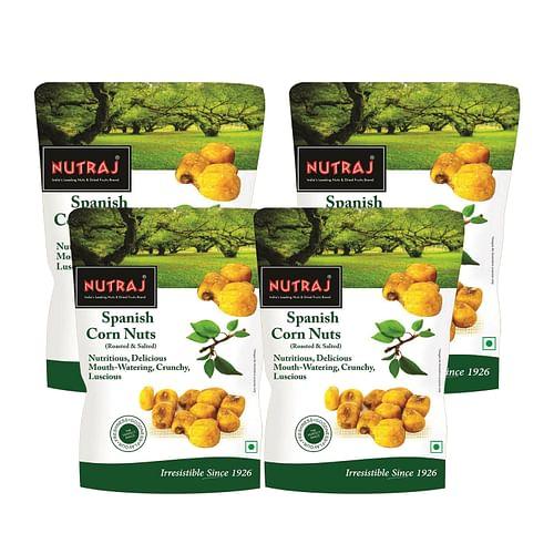 Nutraj Spanish Corn Roasted & Salted 150g - Pack of 4