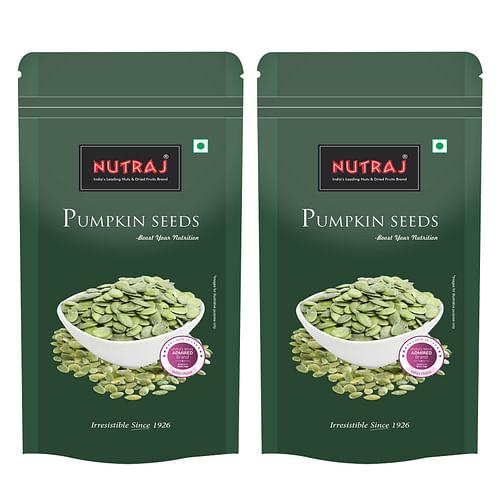 Nutraj Pumpkin Seeds 200g (Pack of 2)
