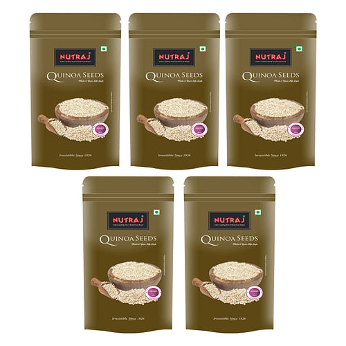 Nutraj Quinoa Seeds 200g (Pack of 5)