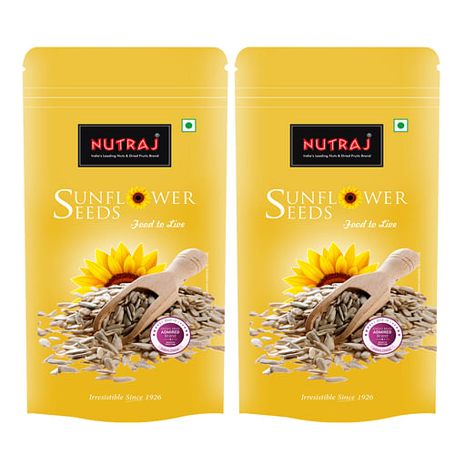 Nutraj Sunflower Seeds 200g (Pack of 2)