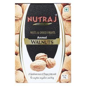 Nutraj Anmol Walnuts Inshell 1 KG (with Shell 1000G)