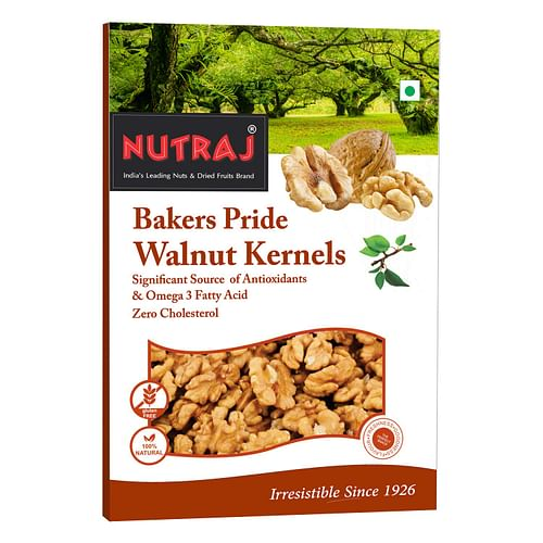 Nutraj Broken Walnut Kernels , (6-8 pcs) 250g