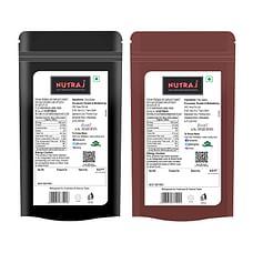 Nutraj Flax Seeds & Chia Seeds (200 gm Each)