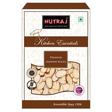 Nutraj Kitchen Essential Premium Almond Slices 400g (200g X 2)