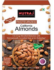 Nutraj Pasteurized California Almonds 1Kg