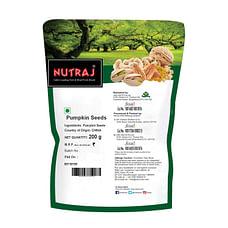 Nutraj Pumpkin Seeds 200g (Buy 2 Get One Free)