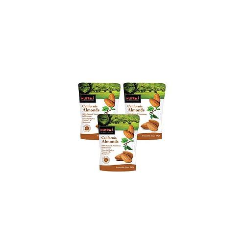 Nutraj California Almonds 250G (B2G1)