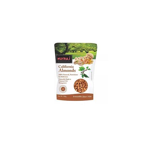 Nutraj California Almonds - 500g