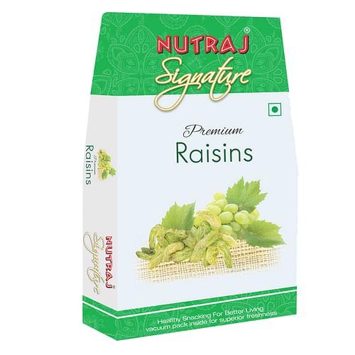 Nutraj Signature - Premium Raisins  200G - Vacuum Pack