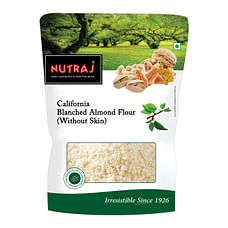 Nutraj California Blanched Almond Flour (Without Skin) 1Kg (5 X 200g)
