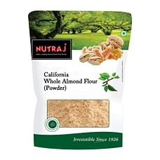 Nutraj California Whole Almond Flour (Powder) 400 g (2 X 200g)
