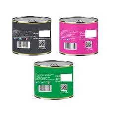 Nutraj Pack of Assorted Caramelized Walnut Kernels 300gm (3 X 100gm) Tin Pack