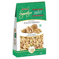Nutraj Signature California Walnut Kernels  200g - Vacuum Pack