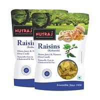 Nutraj Special Raisin 500g (Round) (Pack of 2)