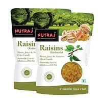 Nutraj Super Raisin 500g (Long) (Pack of 2)