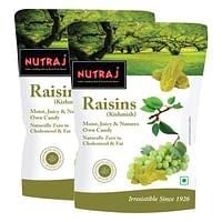 Nutraj Healthy Bites Raisins 250g (Pack of 2)
