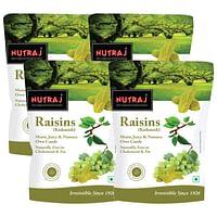 Nutraj Healthy Bites Raisins 250g (Pack of 4)