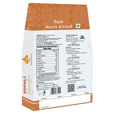 Nutraj Signature Mamra Almonds (Badam Giri) 800g (4x200g) - Vacuum Pack