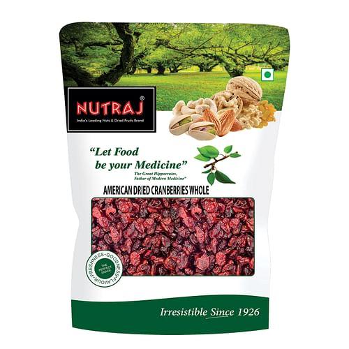 Nutraj American Dried Whole Cranberries 200g