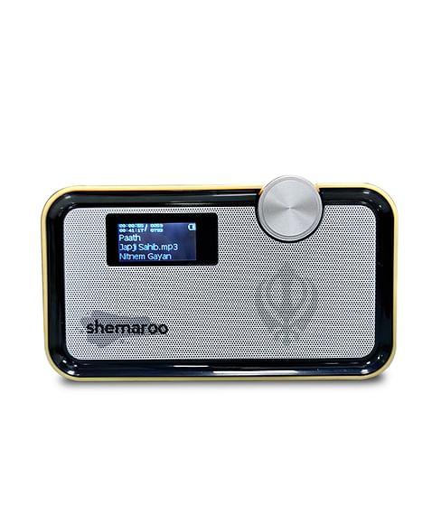 Shemaroo Amrit Bani Bluetooth Speaker (Light Wood)