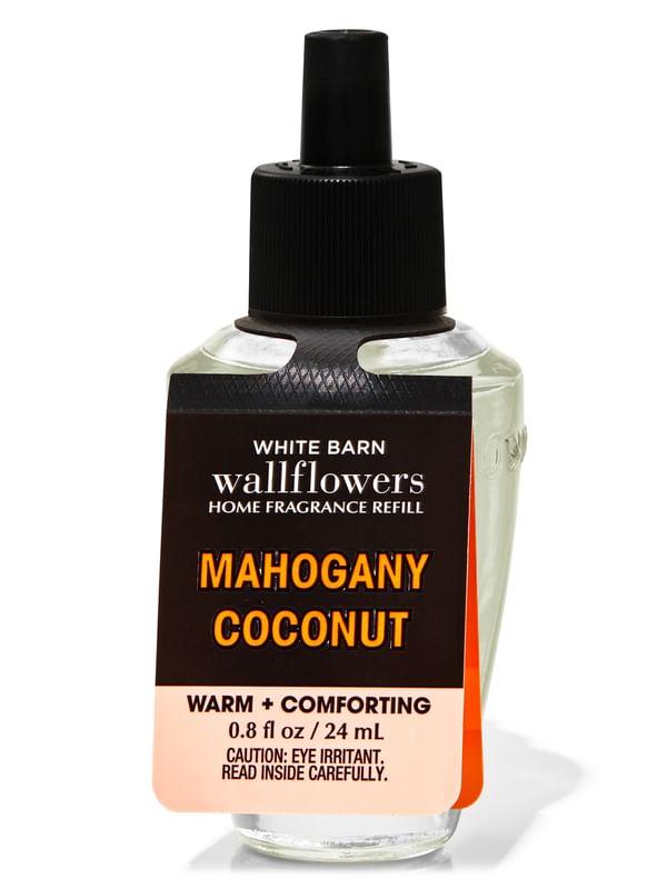 Mahogany Coconut Wallflowers Fragrance Refill