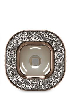 Black Glitter Vent Clip Car Fragrance Holder