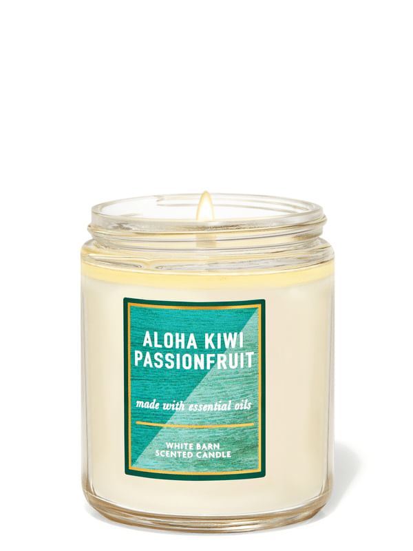 Aloha Kiwi Passionfruit Single Wick Candle
