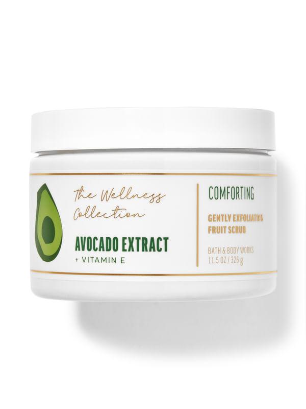 Avocado Extract Gently Exfoliating Fruit Scrub