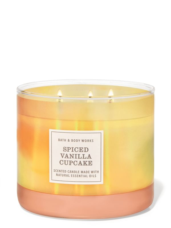 Spiced Vanilla Cupcake 3-Wick Candle