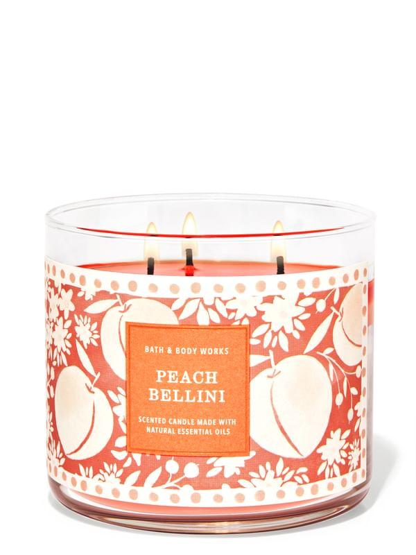 Peach Bellini 3-Wick Candle