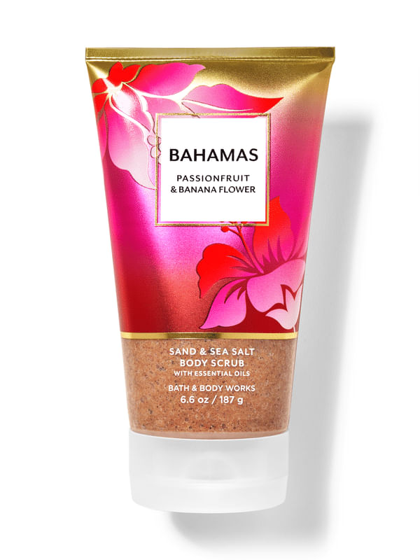 Bahamas Passionfruit & Banana Flower Sand & Sea Salt Body Scrub