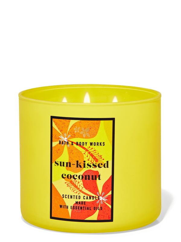 Sun-Kissed Coconut 3-Wick Candle