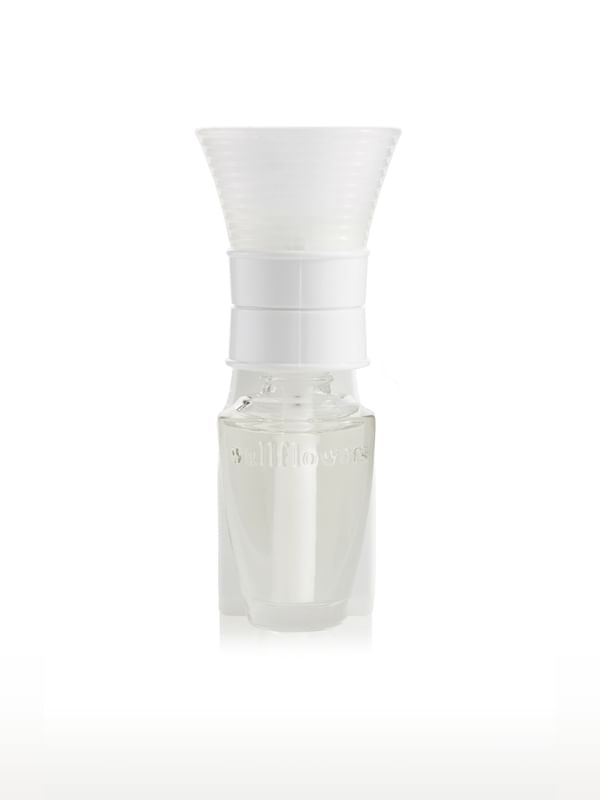 White Conical Wallflowers Fragrance Plug