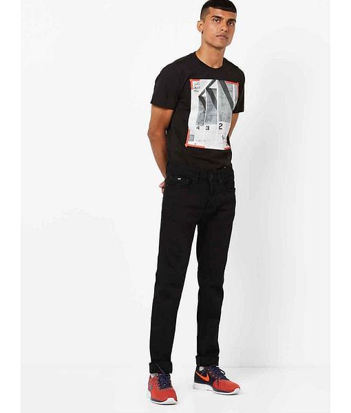 Men's Anders Slim Fit Black Jeans