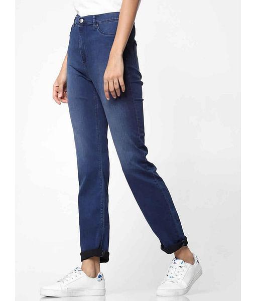 Women's mid wash skinny fit Sumatra X jeans