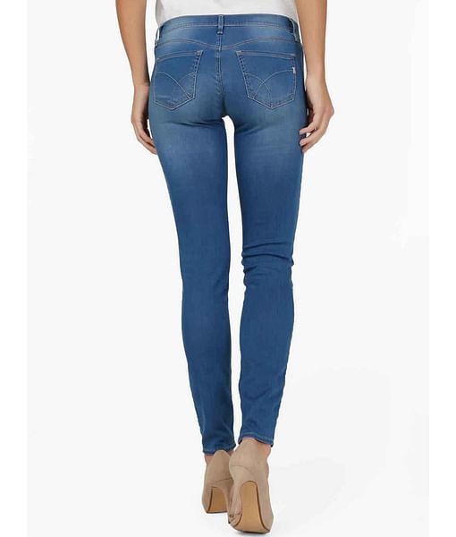 Women's Sumatra skinny fit mid wash jeans