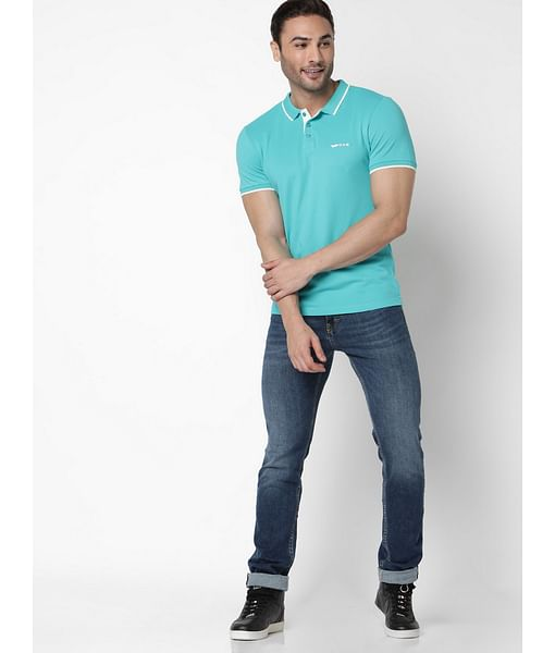 Men's Ralph solid marmaide polo t-shirt