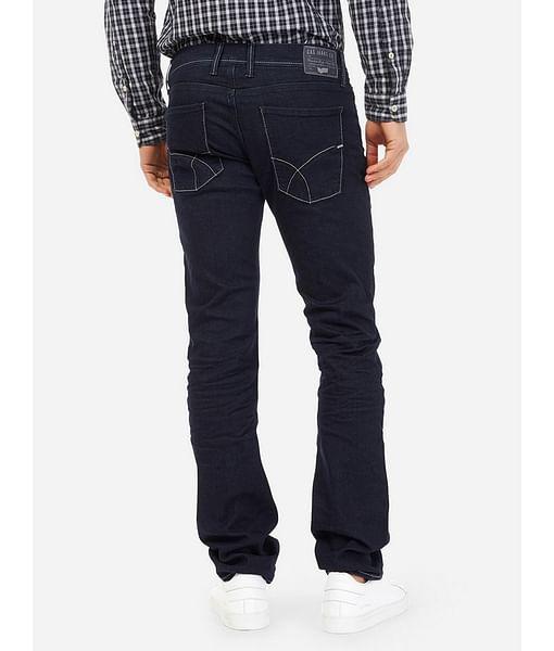 Men's Norton K Straight Fit Dark Blue Jeans