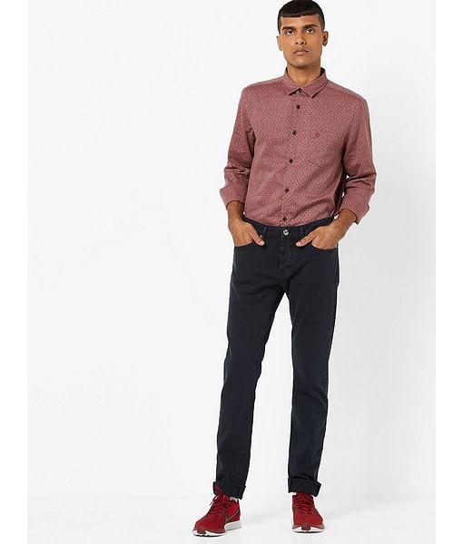 Men's Anders Slim Fit Navy Blue Jeans