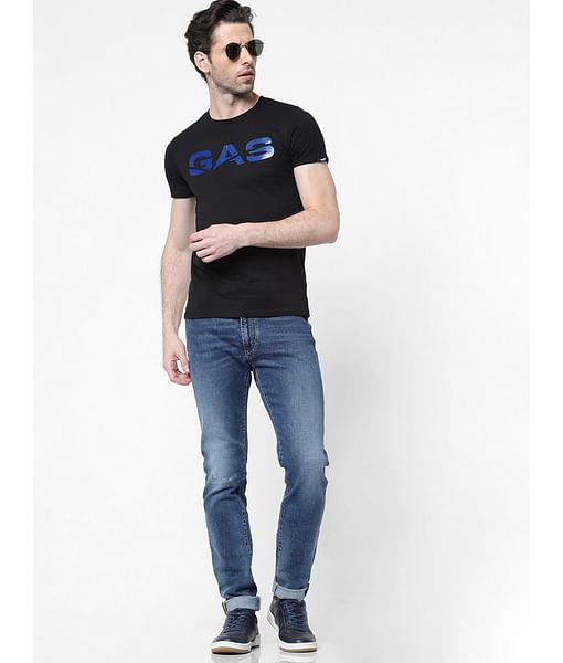Men's Miles Straight Fit Blue Jeans