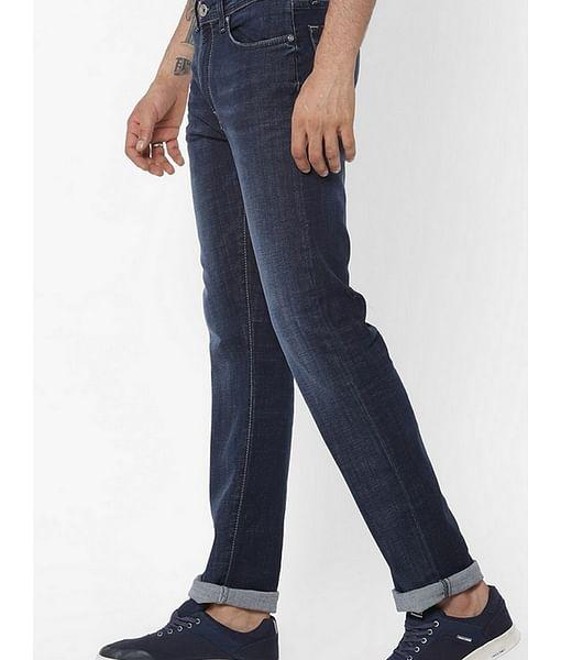 Men's Memphis Straight Fit Blue Jeans