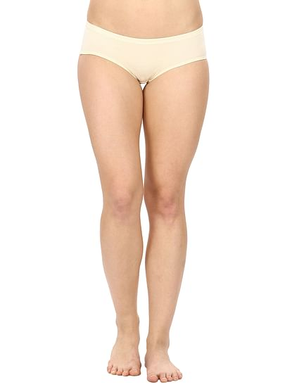 Full Coverage Cotton Panty in Nude